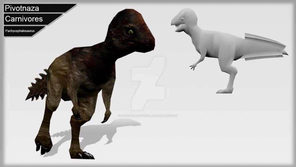 3d Models - Carnivores - Pachycephalosaurus by PivotNazaOfficial
