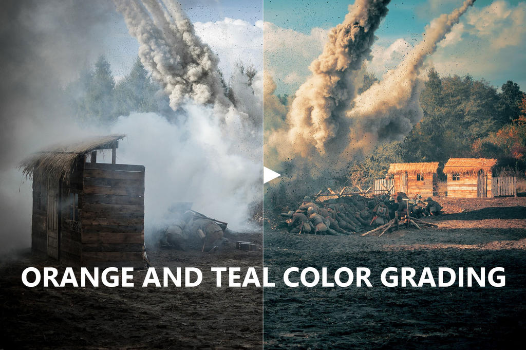 Orange and Teal Cinematic Color Grading Tutorial by IntaglioGraphics