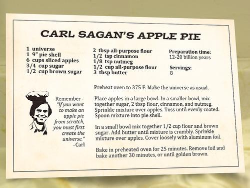 Carl Sagan's Apple Pie by Vampiraldi