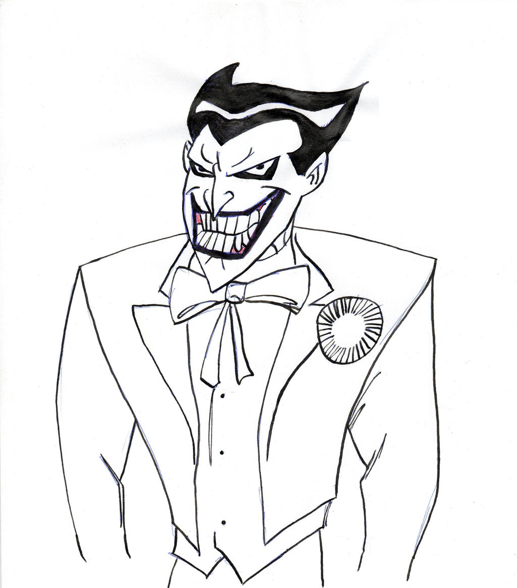 Images For > Animated Joker Drawing