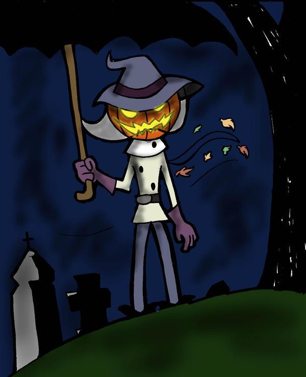 Jack O' Lantern by cinnimonmocha