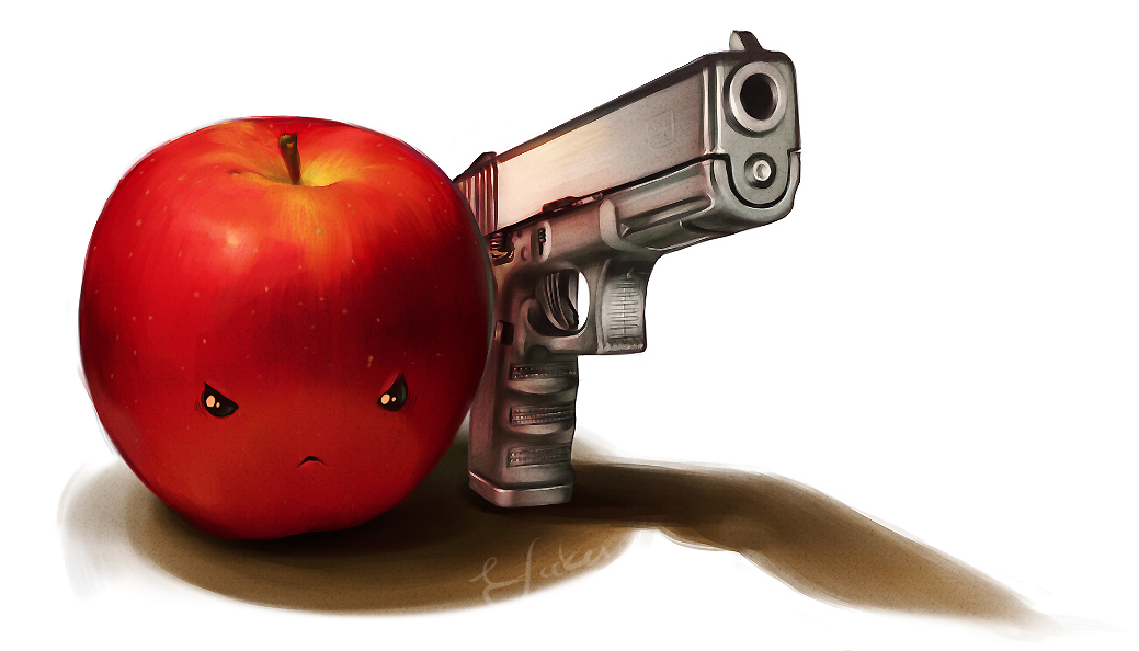 Homicidal Apple by Xeyth
