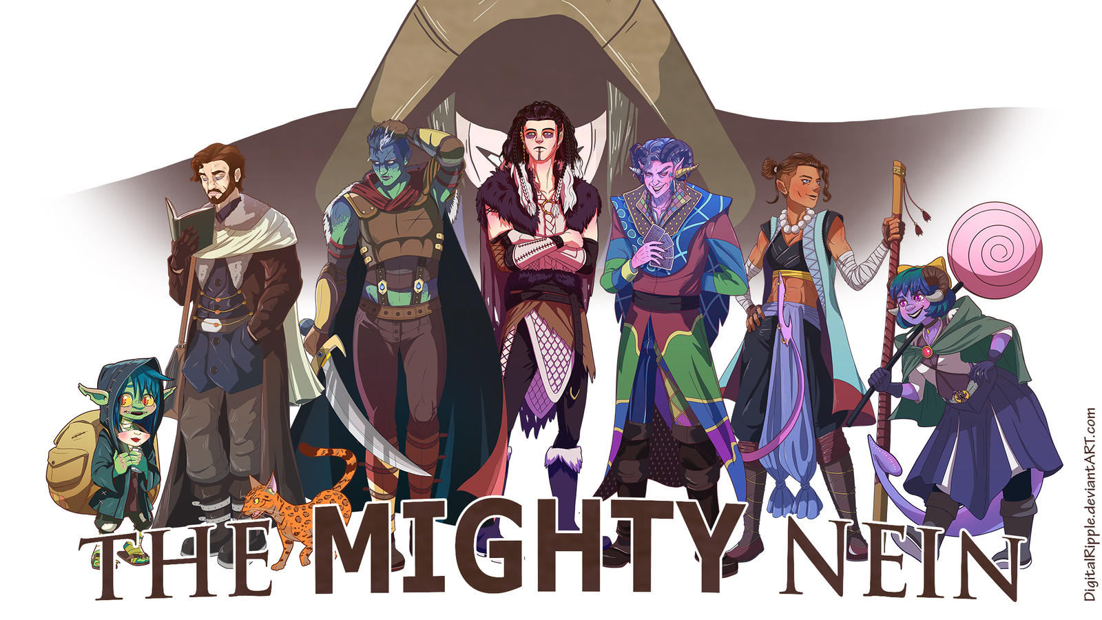 CriticalROLE Campaign 2 - The Mighty Nein by DigitalRipple ...