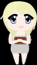 Chibi Namine by craftytexangirl
