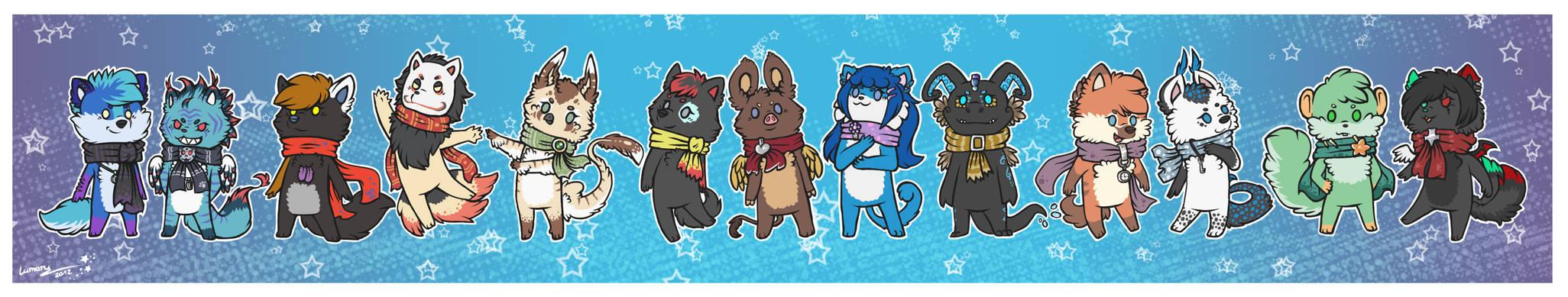Christmas Chibis