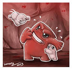 Super Meat Boy Doodle x3