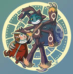 Owlboy Fanart: Owlboy And Spiderguy