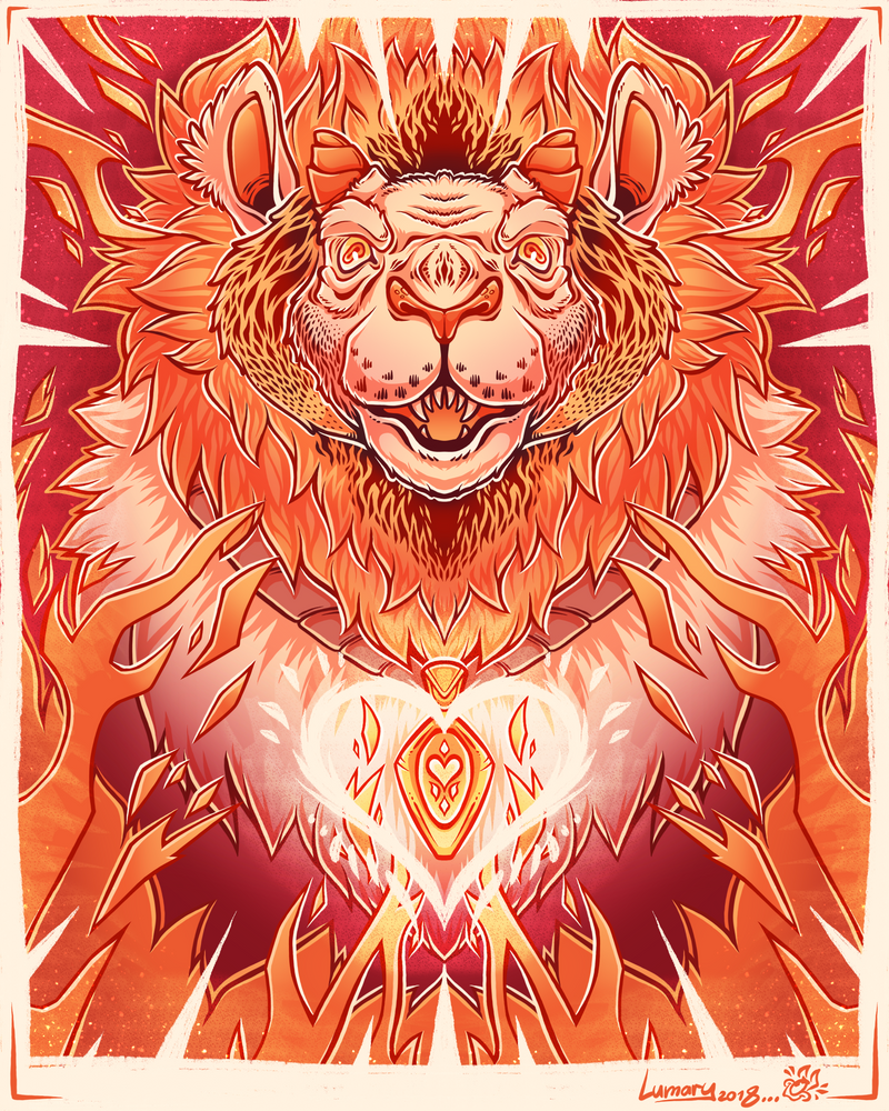 Demon Lion by Lumary92