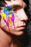 Paint on face