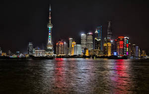 Bright Lights at Pudong, Shanghai by astra888