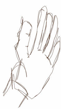 BLIND CONTOUR DRAWING 3