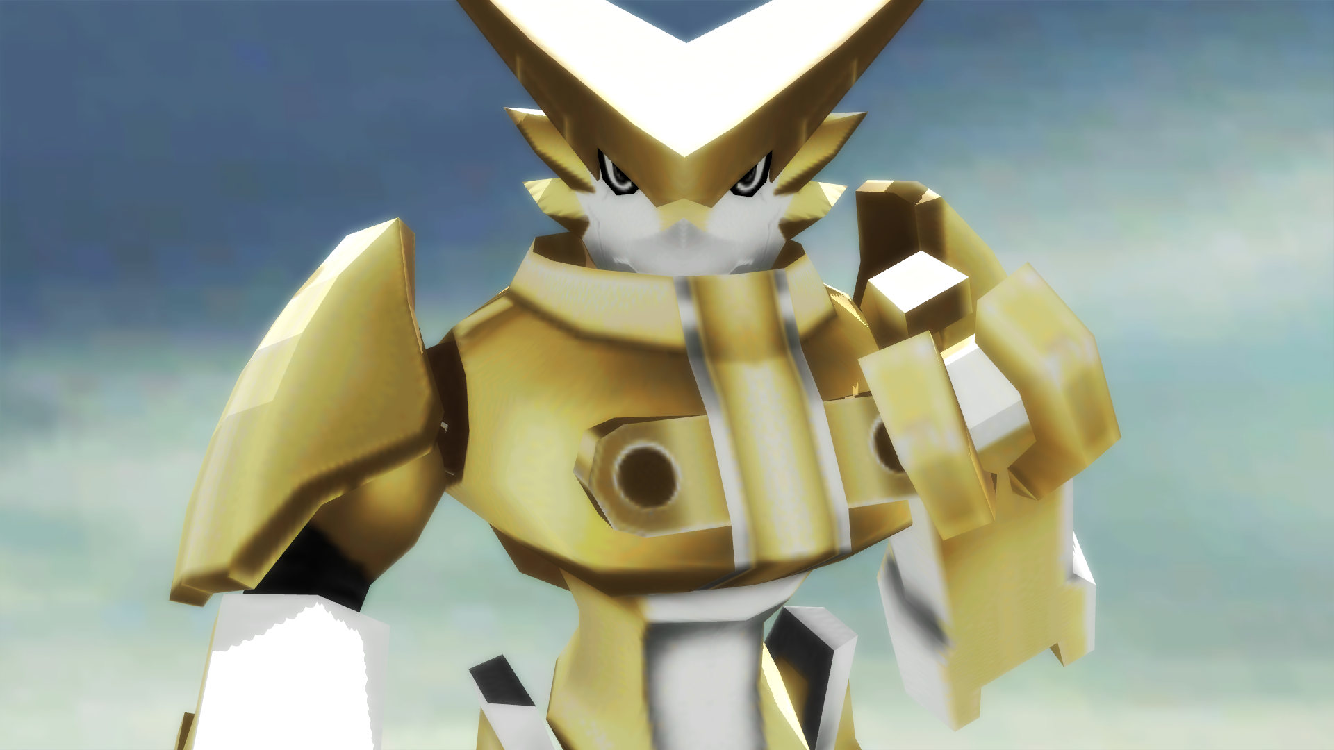 omegashoutmon digimon adventure psp by guiltronprime on