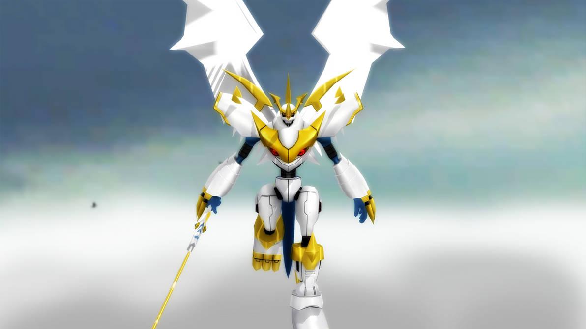 Imperialdramon Paladin Mode by GuilTronPrime on DeviantArt