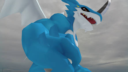 ExVeemon (Cyber Sleuth) Polished by GuilTronPrime