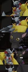 Digimon Genos Episode 4 - Pg46 Intermission by GuilTronPrime