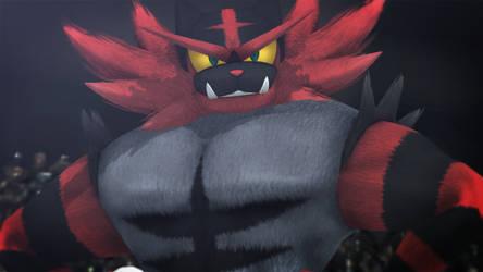 Incineroar (Smash Ultimate) by GuilTronPrime