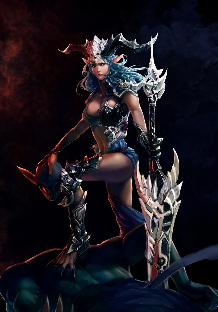 Female Berserker By XiaoBotong On DeviantArt