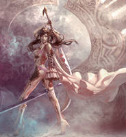 Pole goddess by XiaoBotong