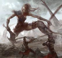 Human war bellona by XiaoBotong