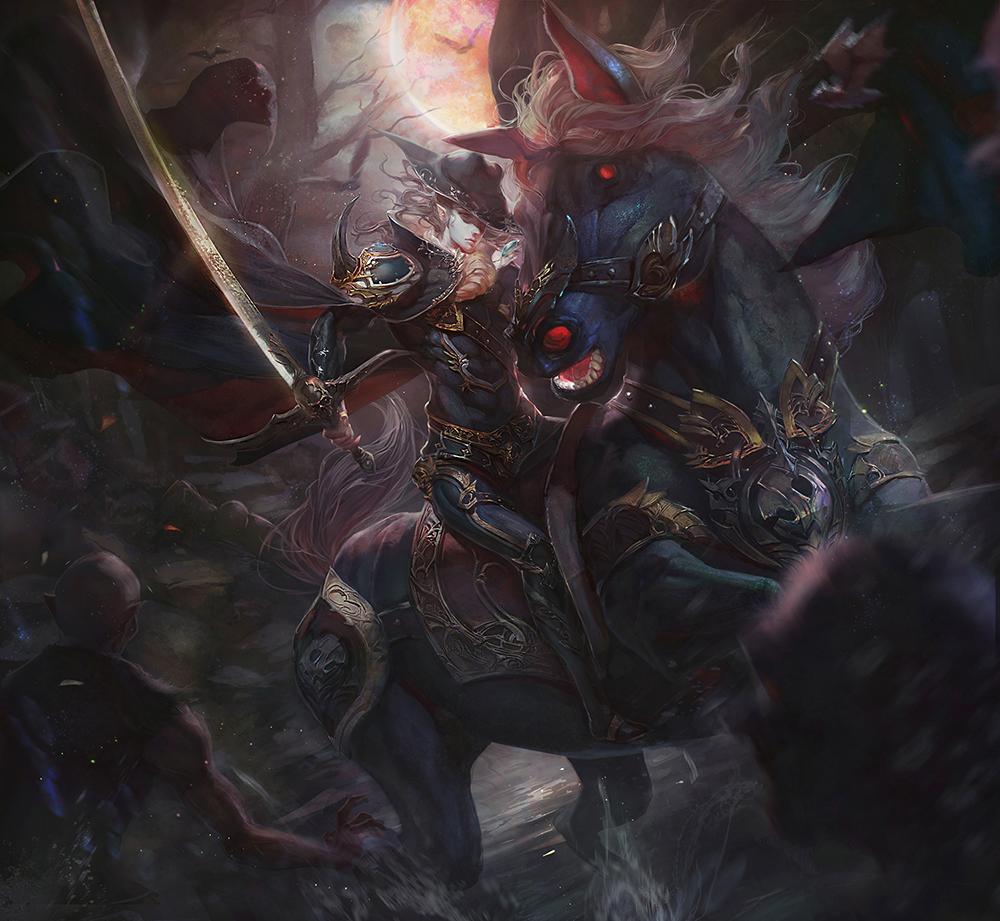 Vampire Hunter D by Xi... Soulstealer Vladimir Wallpaper