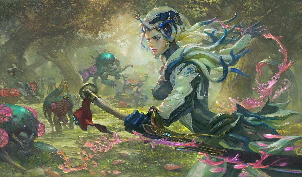 Warframe Saryn Prime By Xiaobotong On Deviantart