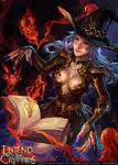Witch of the Demon Book
