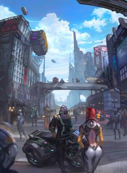 Future slum