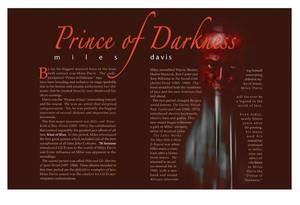Article of Miles Davis