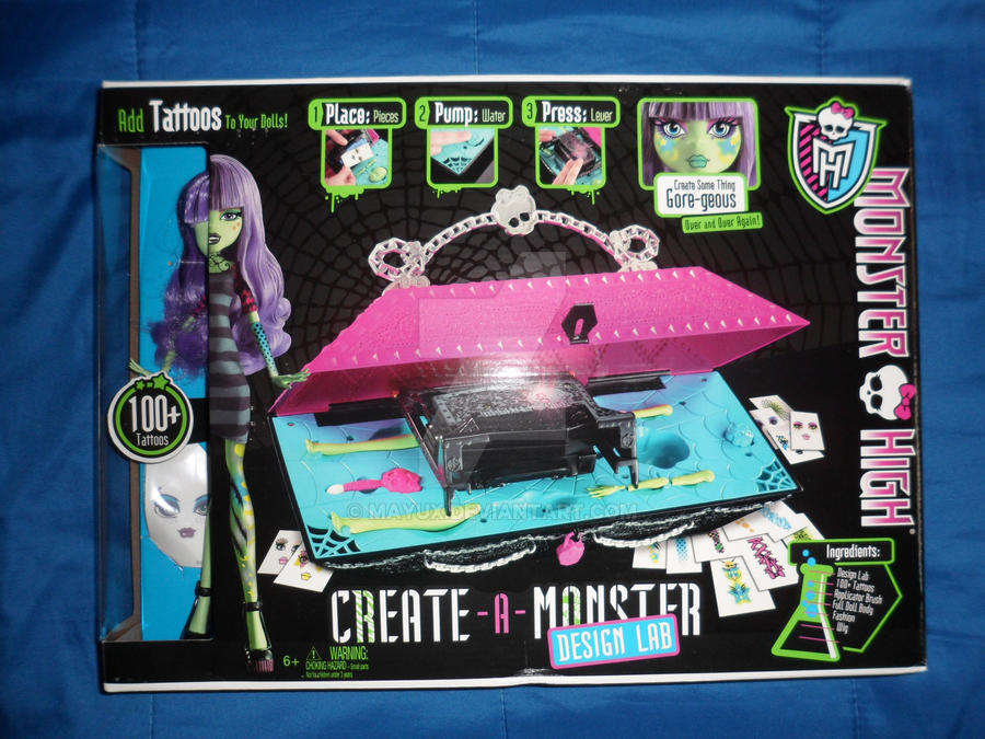 Monster High Create A Monster Design Lab By Mayux On Deviantart