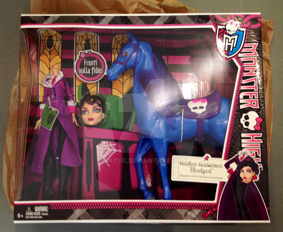 Monster High Headless Headmistress Bloodgood by Mayux