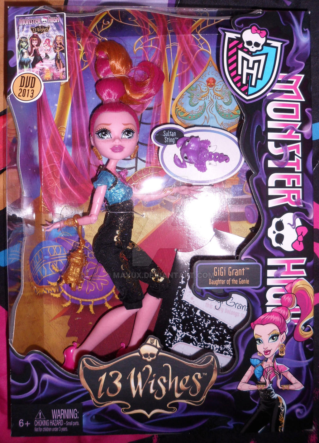 Monster High Gigi Grant by Mayux on DeviantArt