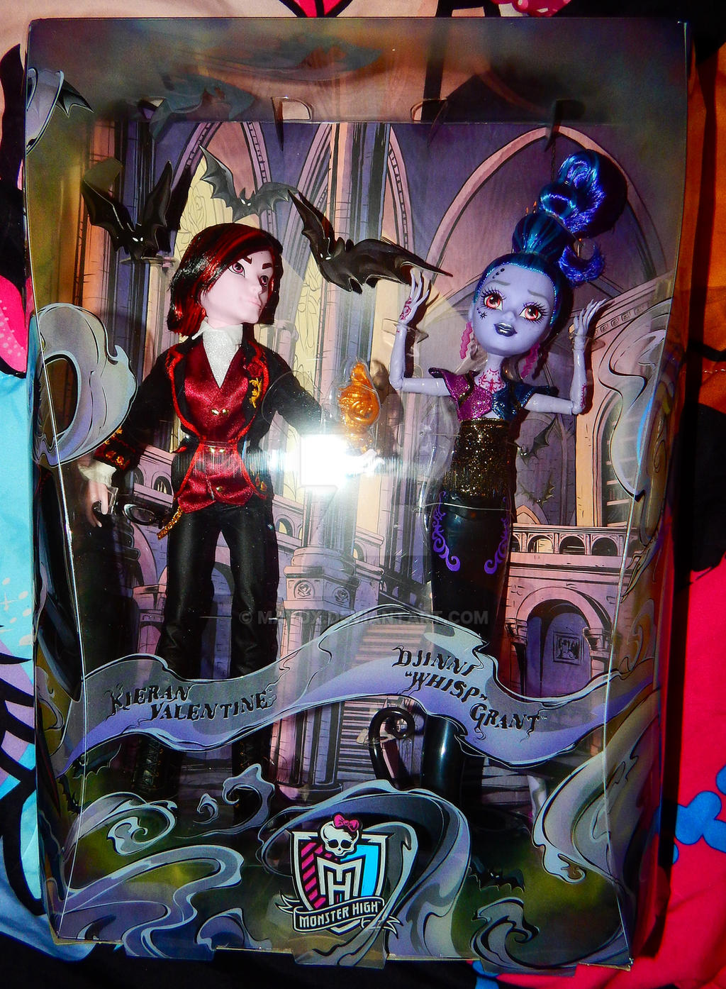 ... SDCC 2015 Monster High Whisp And Valentine By Mayux