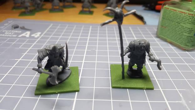 Banner Boy and Berserker