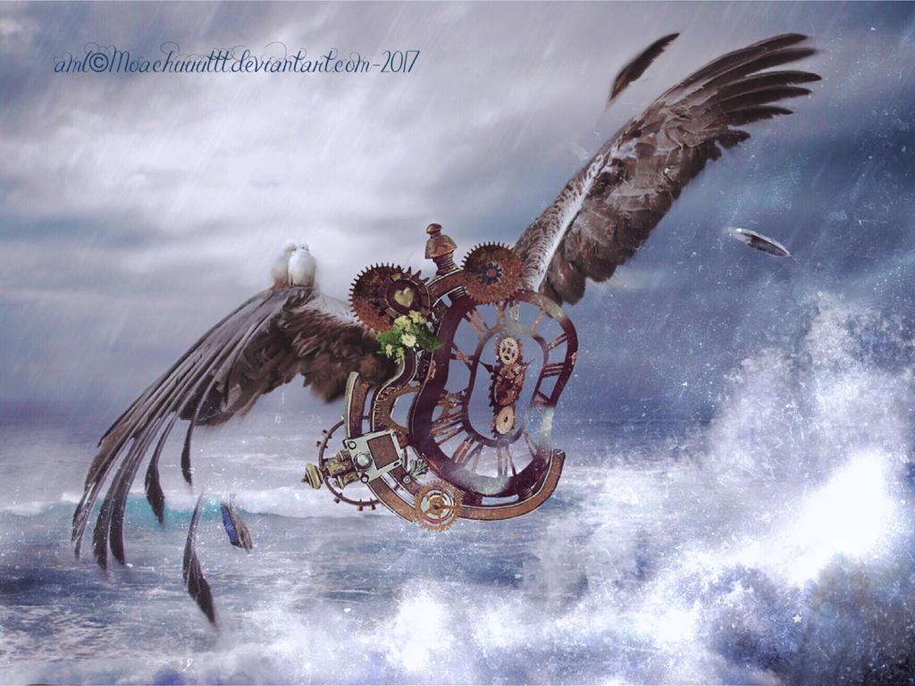 Le temps emporte sur son aile.... by MoAChuuuttt