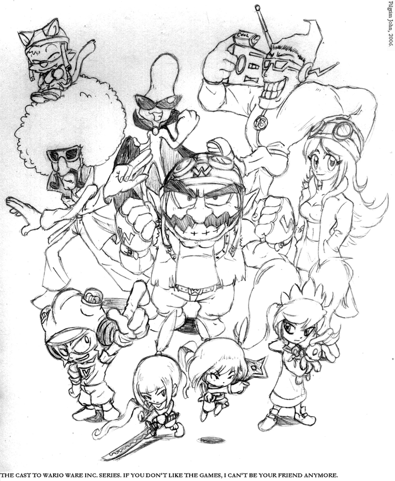 Wario Ware: Life's A Party By PilgrimJohn On DeviantArt