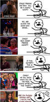 Cereal Guy - OMG Seddie by WingzemonX
