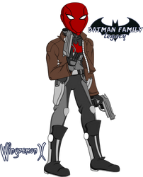 Batman Family Legacy - Jason Todd / Red Hood (Alt) by WingzemonX