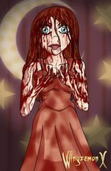 Carrie en el Baile Negro - Resp. entre Tinieblas by WingzemonX