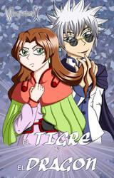 Enishi y Magdalia de EL TIGRE Y EL DRAGON (2020)