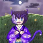 100 Theme OC Challenge:  Catching Fireflies by MissRiku