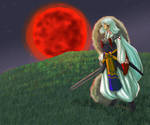Contest prize: Sesshomaru by MissRiku