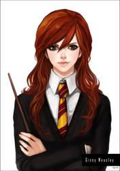 Ginny Weasley by eliz7