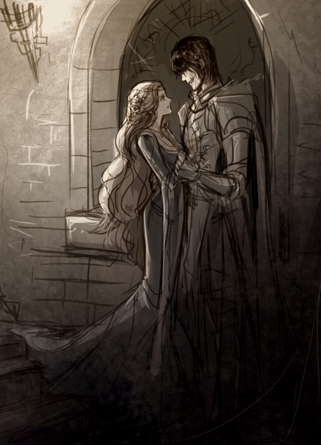Sansa and Sandor by eliz7
