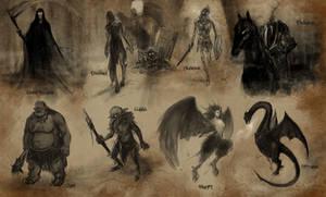 Monsters by eliz7