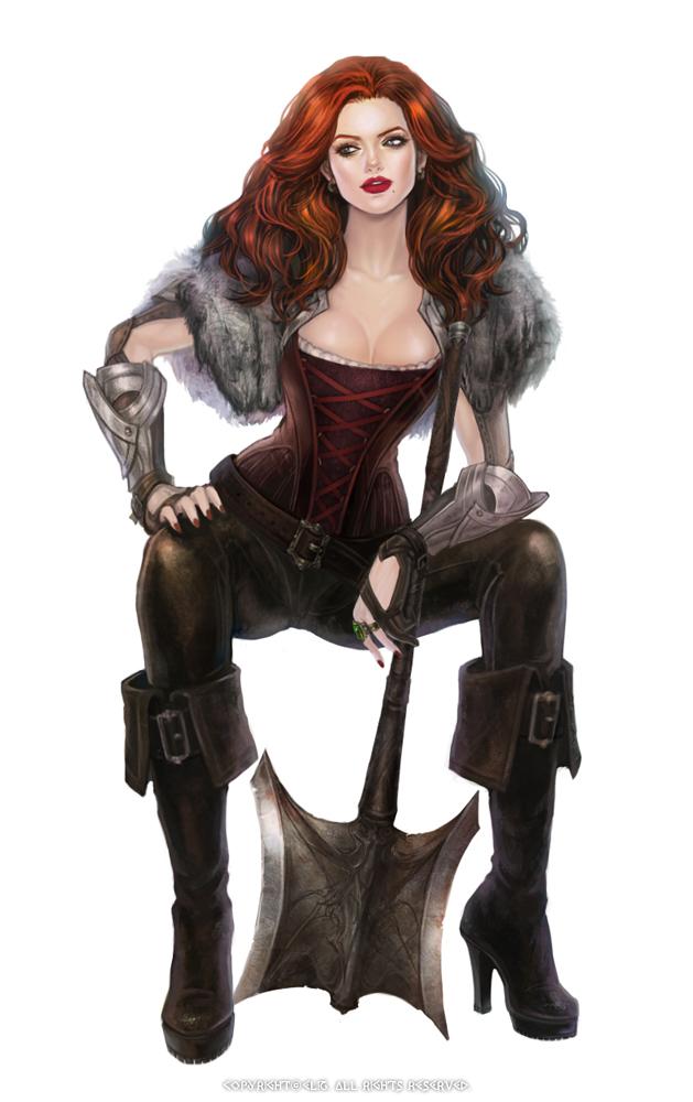 Warrior-woman by eliz7