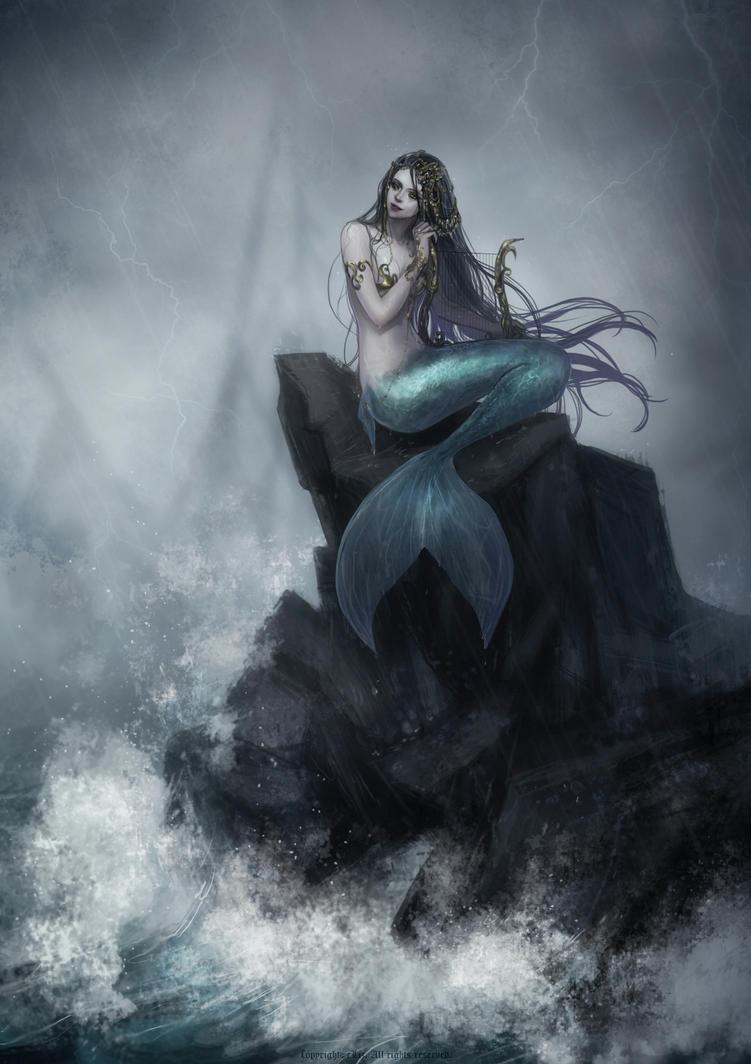 Mermaids on Pinterest | Vintage Mermaid, Digital ...