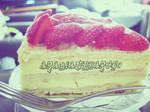Custard Strawberry Tart...Yumm by arabianpharoe