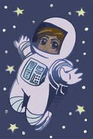 02 11 2008 astronaut by NenaLuna
