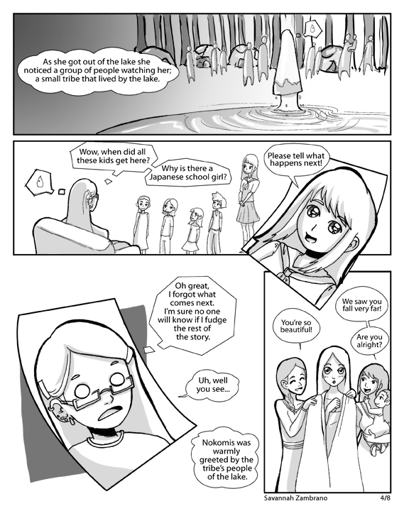 Nokomis and Nanabozho pg4