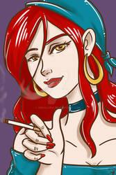 Papin gives smoking a thumbs up